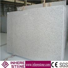 China Pearl White Granite Slabs Flamed Finished, G896 Granite, Lily White Stone