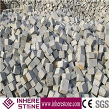 Chinese Sardinia Grey Granite Cube Stone, G602 Granite Cheap Patio Paver Stones for Sale, China Grey Sardo Natural Stone