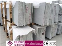 Factory Sale Polish G603 Bianco Crystal Granite Slabs & Tiles, China Grey Granite,Gamma White,Ice Cristall for Project