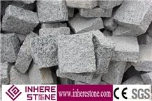 G603 Granite Cube Stone,China Grey Granite Coobles,Light Grey,Monte Bianco,Mountain Grey,White Of Bacuo ,Padang Crystalchina Bianco Sardo White Cubestone