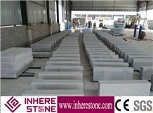 G603 Granite Kerbstone/Padang Light/Sesame White/China Grey Granite Curbs/China Bianco Sardo White Kerb Stone