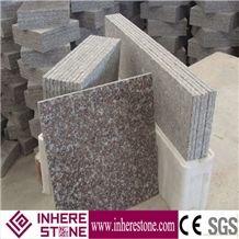 G664 ,G3564 Granite,Luna Pearl Granite,Luoyuan Bainbrook Brown,Black Spots Brown Granitegranite Tiles(Factory+Good Price),Pink Granite Tile,Polishing Surface Finished