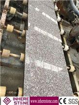 Hot Sale Cheap Price Pink G664 Granite Tiles,Polishing Copper Brown,Fu Rose,Loyuan Red Granite,Luo Yuan Violet,Luoyuan Violet,Majestic Mauve Granite Tile