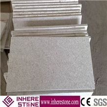 Natural Stone Flamed Surface White Granite Tiles, Pearl Flower White Granit, G629 Granite, Zhenzhu Bai for Wall Cladding