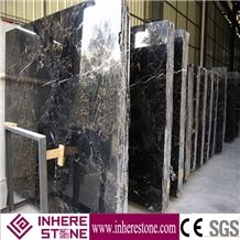 Portoro Gold Marble,Black Golden Flower Marble, Portoro Marble Slabs, Black and Brown Marble Slabs & Tiles, Black Golden Flower Marble Slab Polished High Quality