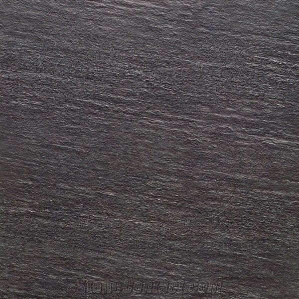 Black Color and Design Rough Surface Porcelain Tile from China - StoneContact.com