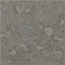 Jerusalem Gray Stone Tiles & Slabs, Grey Polished Limestone Flooring Tiles, Walling Tiles