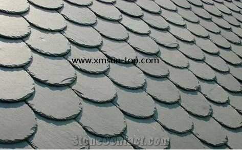 Chinese Roofing Slate Green Slate Roofing Tiles Green Slate Roof Tiles Verde Slate Tile Roof U Shape Roof Covering And Coating Stone Roofing From China Stonecontact Com