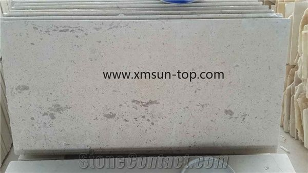 Grey Limestone Steps, Light Grey Limestone Stair, Stair Treads, Stair  Riser, Honed Stair/Staircase,Paving Stone, Limestone Paver