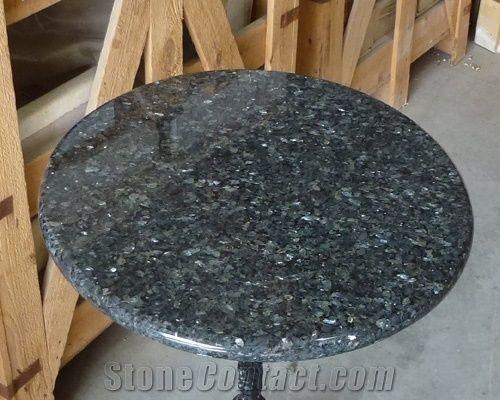 Blue Pearl Labrador Blue Granite Round Interior Table Tops
