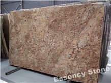 Antique Persa Gold Granite Big Slabs Polished,African Juparana Persa Granite Small Slabs,Amber Persa Granite