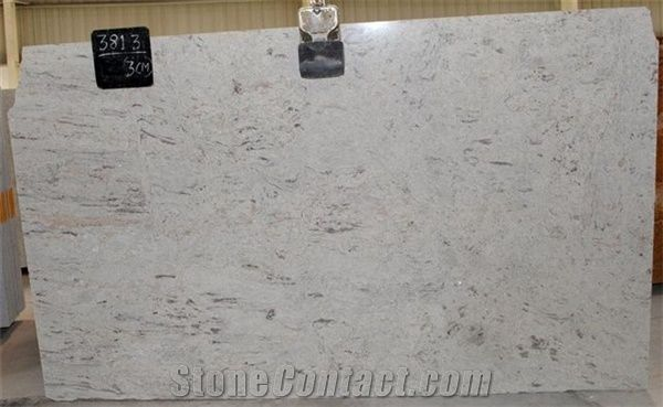 High Quality River White Granite Est Price Indian Slabs On