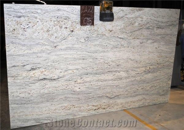 Hot Natural Granite River White Tile Slab Price
