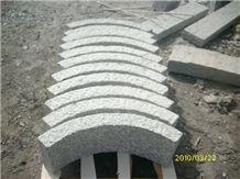 China Zima White Granite G603,Fujian Old G603, Original G603, Grey Granite, Chinese Grey Sardo, New Grey Sardo,Kerb Stone, Kerbstone,Curbstone,Road Stone, Line Stone, Bush Hammered
