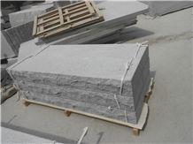 Fujian Zima White Granite G603,Fujian Old G603, Original G603, Grey Granite, Chinese Grey Sardo, New Grey Sardo,Wuhan G603, Jiujiang G603 Deck Stair, Steps, Treads, Risers,Staircase