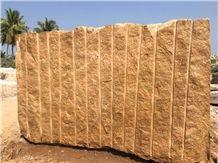 Kangayam Gold Granite Blocks, Yellow Granite Block