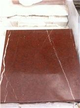 China Rojo Alicante Marble Polished Tiles & Slabs