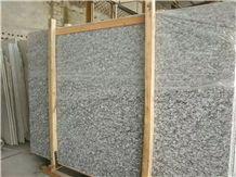 G568 Surf White Wave Granite Polished Slabs Tiles