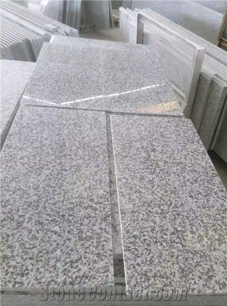 G623 China Crystal Grey Bianco Sardo Barry White Rosa Beta Polished Calibrated Tiles