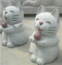 Granite Natural Stone Carving Animal Sculpture Garden Sculpture