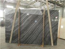 Green Wood Vein Grain Marble Polished Slabs & Tiles