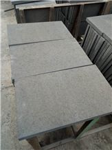 Mongolian Black China Black Basalt Flamed Tiles