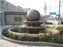 Water Features Stone Fountains Rolling Ball Fountains