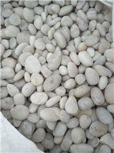 White Pebble Stone River Stone Polished Pebbles