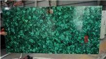 Green Malachite Price Semiprecious Stone Slabs for Sale
