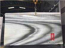 Grey Vein Marble Polished Decorative Wall Panel Marble Slab