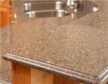 Artificial Quartz Stone, Brown Artificial Stone Kitchen Countertops