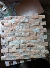 China Stone Mosaic Tile,Split Red Wanxia Red,Sunset Red,Wanxia Hong Split Face 25*50mm Marble Mosaic Chinese Marble for Wall,Floor,Interior,Bathroom, Decoration