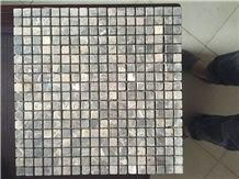 Emperador Dark Stone Mosaic Tile,Ramona,Ramona Brown,Ramora Brown,Emperador Dark Spain,Marron Emperador,Marone Imperial Tumble 15x15mm Marble Mosaic for Wall,Floor