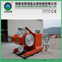 8 Poles 37kw Granite Quarry Stone Cutting Machine