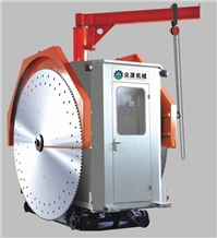 Double Blades Stone Cutting Machine