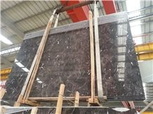 China Emperador Dark Marble Tiles & Slabs, Polished Emperador Marble Floor Covering Tiles