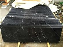 China Marquina Marble Tiles & Slabs, Black and White Vein Marble Floor Covering Tiles