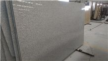 G603 Granite Big Slabs, Jinjiang G603 Granite Slabs, Polished China White Granite Slabs