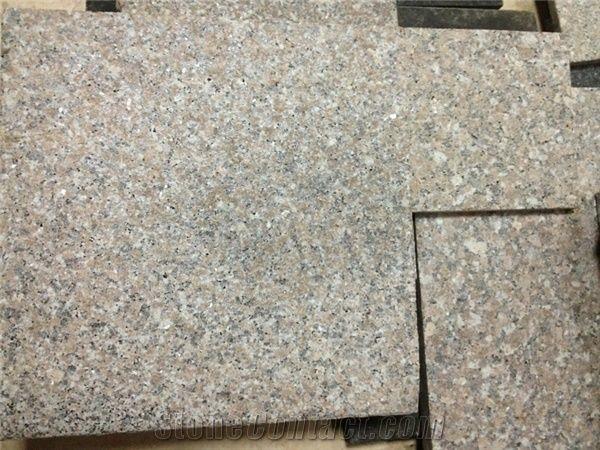G648 Flamed Granite Slabs Zhangpu Red Floor Tiles Flooring