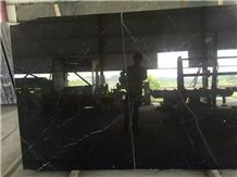 Nero Marquina Marble Tiles & Slabs, Black Marble Slabs, Black and White Marble Big Slabs
