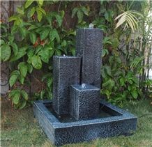 Granite Carved Garden Water Feature