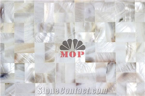 Wholesale Brick Mother Of Pearl Mosaic Veneer Fireplace From China