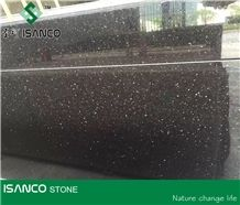 Best Quality Black Galaxy Granite Pattern Most Beautiful Gold Star Black Granite Slabs & Granite Tiles Black Granite Flooring Star Galaxy Granite Wall Covering Hotselling