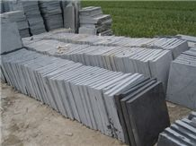 Bush Hammer Bluestone Slabs & Tiles, Floor & Wall Tiles,Blue Stone Wall Covering,Blue Limestone Skirting & Flooring, Wall & Floor Covering,Honed Bluestone Tiles Cut to Size,Tumbled Bluestone Paving Ti