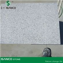 China G603 Flamed Tiles for Floor Paving,Granite Paving Stone,White Grey Color Granite Stone, Manufacture-Qingdao Sanco Stone