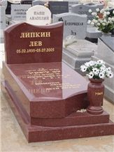 European Memorials,Russian Memorials,American Grave Stone,Tombstone with Carving Letters,Rectangular Tombstone and Monuments,American Memorials,Angel Tombstone with Flower Vase,Cross Gravestone