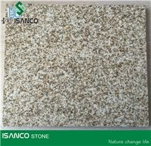 G388 Yellow Granite Polished Yellow Granite Shandong Giallo Cecilia Granite Flooring & Wall Cladding G388 Granite Tile