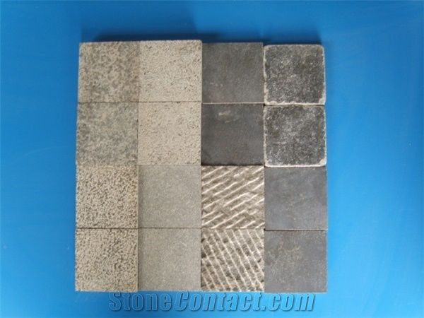 Honed Bullnose Bluestone Tiles Cut To SizeTumbled Bluestone Paver - Bullnose tile sizes