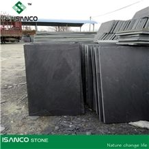 Jiangxi Black Slate Floor Tiles, Slate Wall Tiles, Black Slate Tiles and Slabs