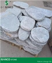 Landscaping Stone Random Flagstone Stepping Stone Irregular Flagstones Natural Slate Patio Walkway Pavers Road Paving Stone Tumbled Natural Stone for Decoration